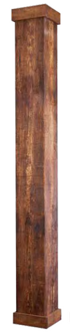 NON TAPERED WORTHINGTONCAST RUSTIC COLUMN SHAFT (VARIOUS SIZES)