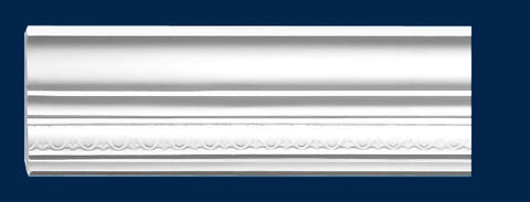 "3 1/4""H x 16'L x 2 1/8""P Decorative Crown Molding"