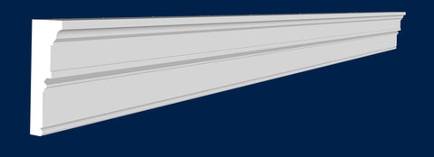 "4 1/2""H x 16'L x 1 5/8""P Decorative Crown Molding"