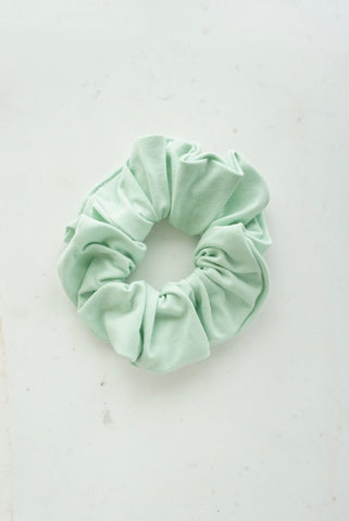 Summer 2021 Mint Ice Cream Scrunchie