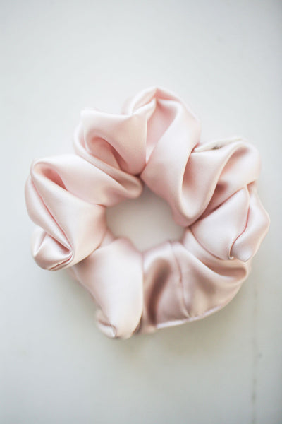100% SILK in BLUSH