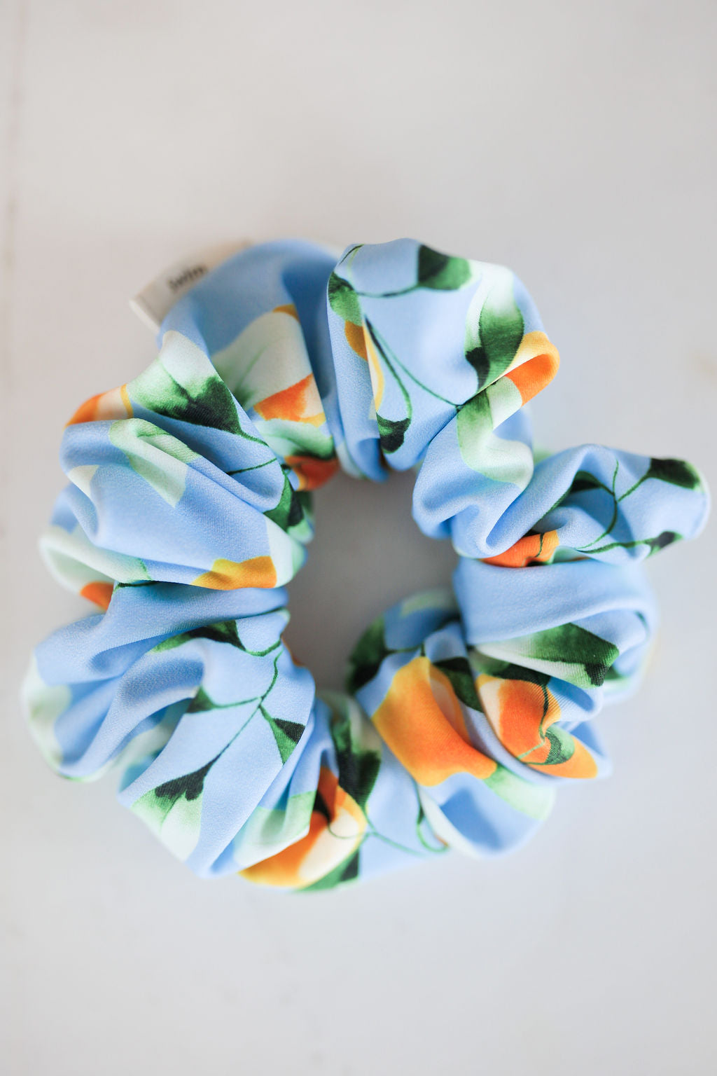 Swimmer Lemon Scrunchie