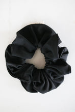 Load image into Gallery viewer, Swimmer Black Scrunchie
