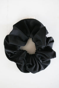 Swimmer Black Scrunchie