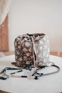 Laundry Bag - Moss Floral