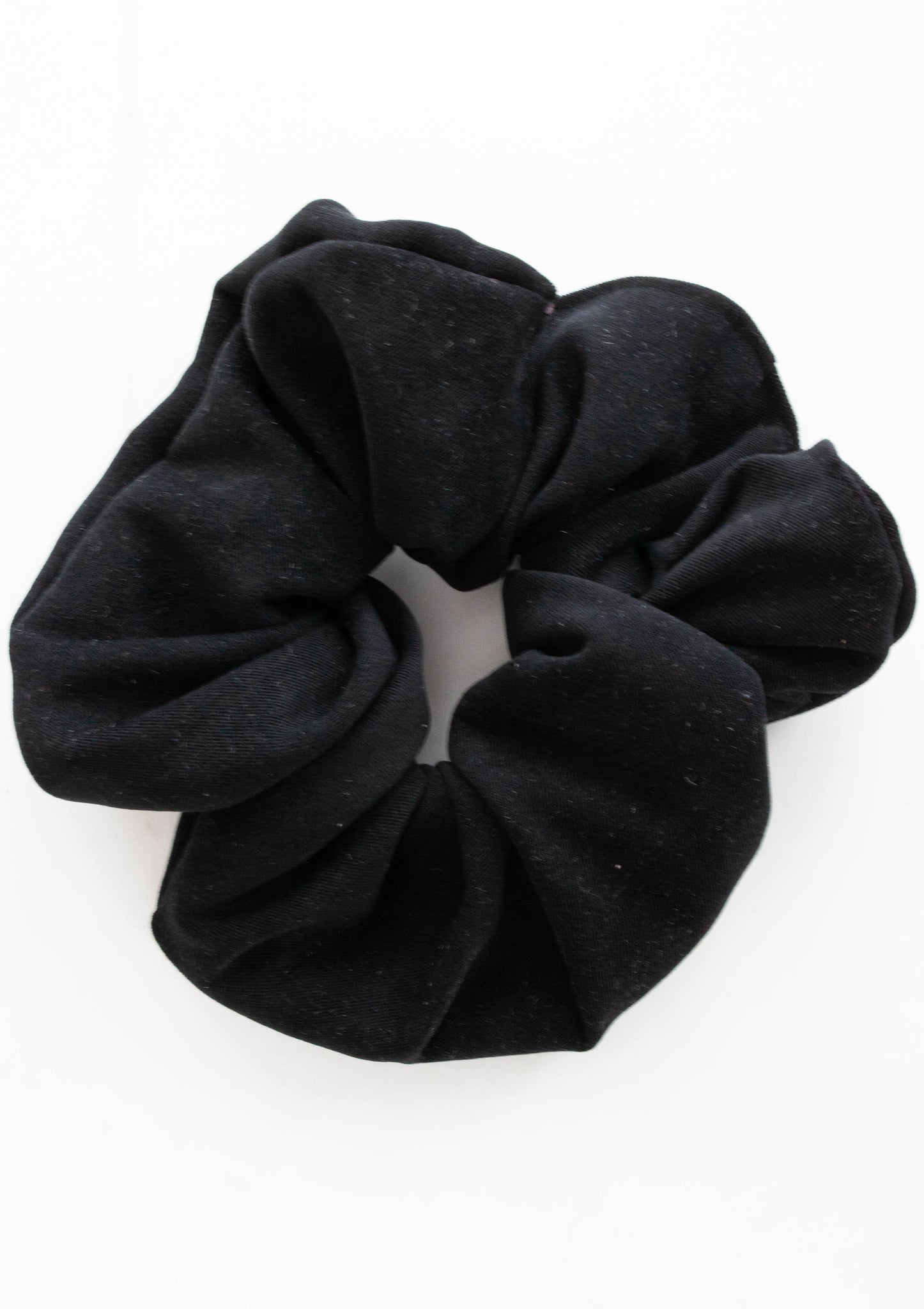 The Gym - Black Scrunchie