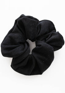 The Black Gym Scrunchie