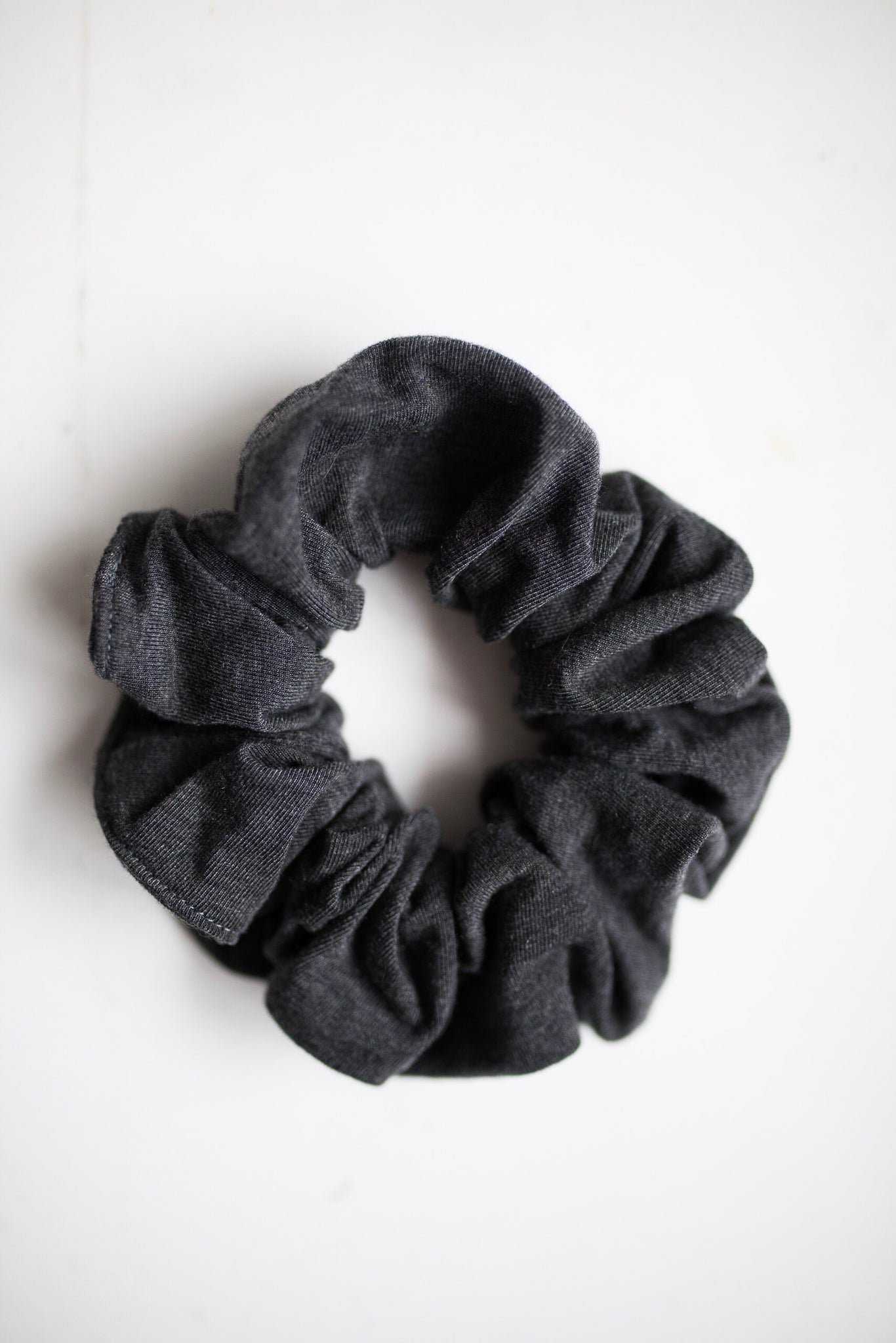 The Gym - Heather Charcoal Grey Scrunchie