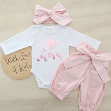 Load image into Gallery viewer, 0-24M 3pcs Baby Girls Romper+Long Pants+Headband Cute Outfits Toddler Kid Clothing Set