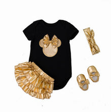 Load image into Gallery viewer, Infant Girls Clothing Set Newborn Baby Ears Bodysuits Christmas Wear Fashion Outfits Toddlers Clothing