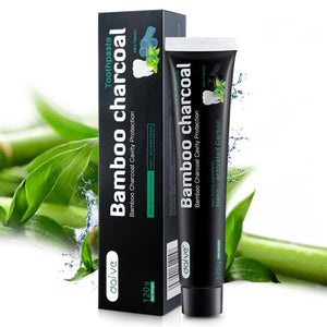 Organic Charcoal Toothpaste with Bamboo