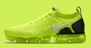 "NIKE AIR VAPORMAX 2 FLYKNIT ""VOLT"" AVAILABLE NOW"