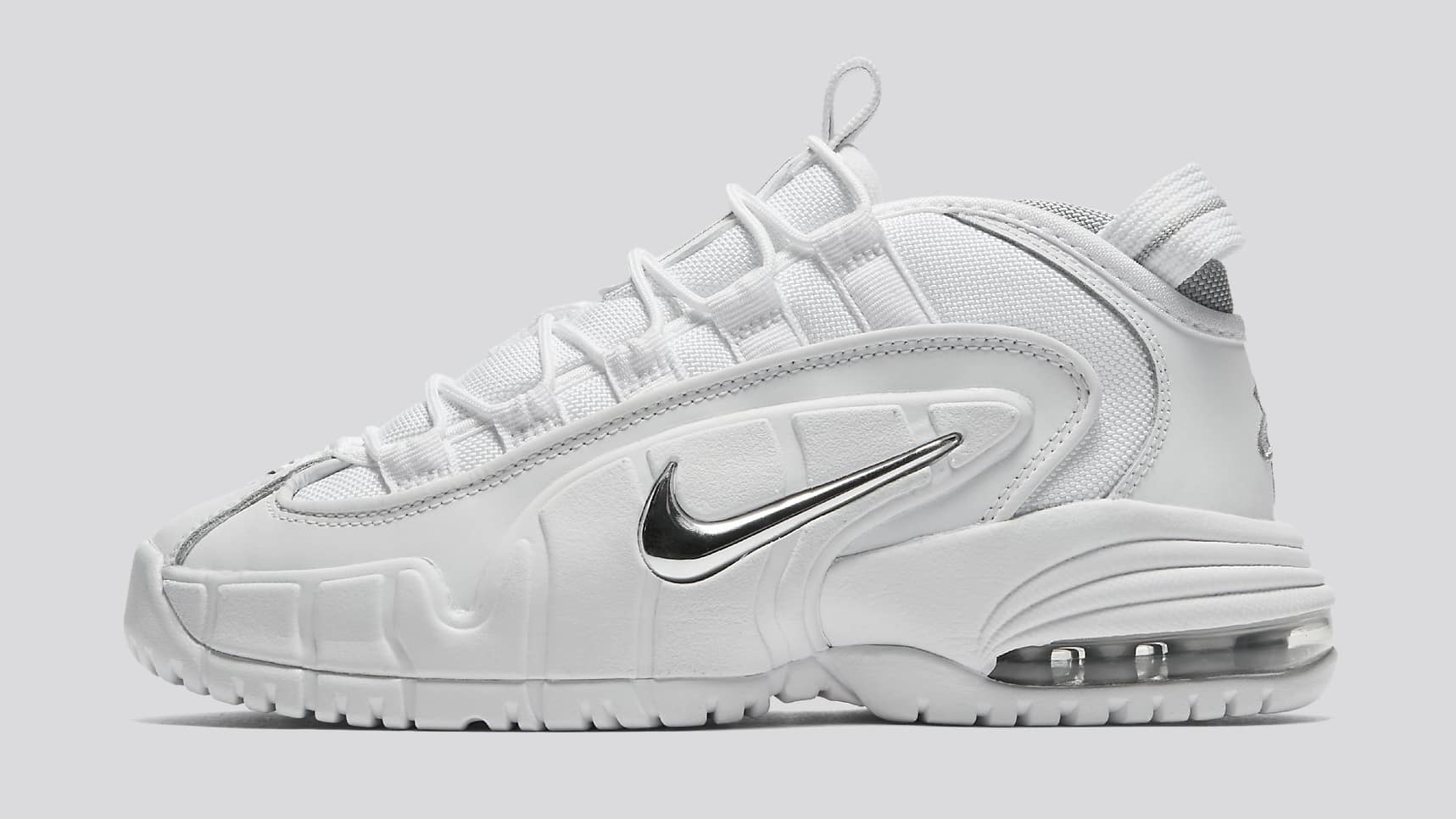 "NIKE AIR MAX PENNY 1 ""WHITE METALLIC"" RELEASE DATE: AUGUST 10, 2018"