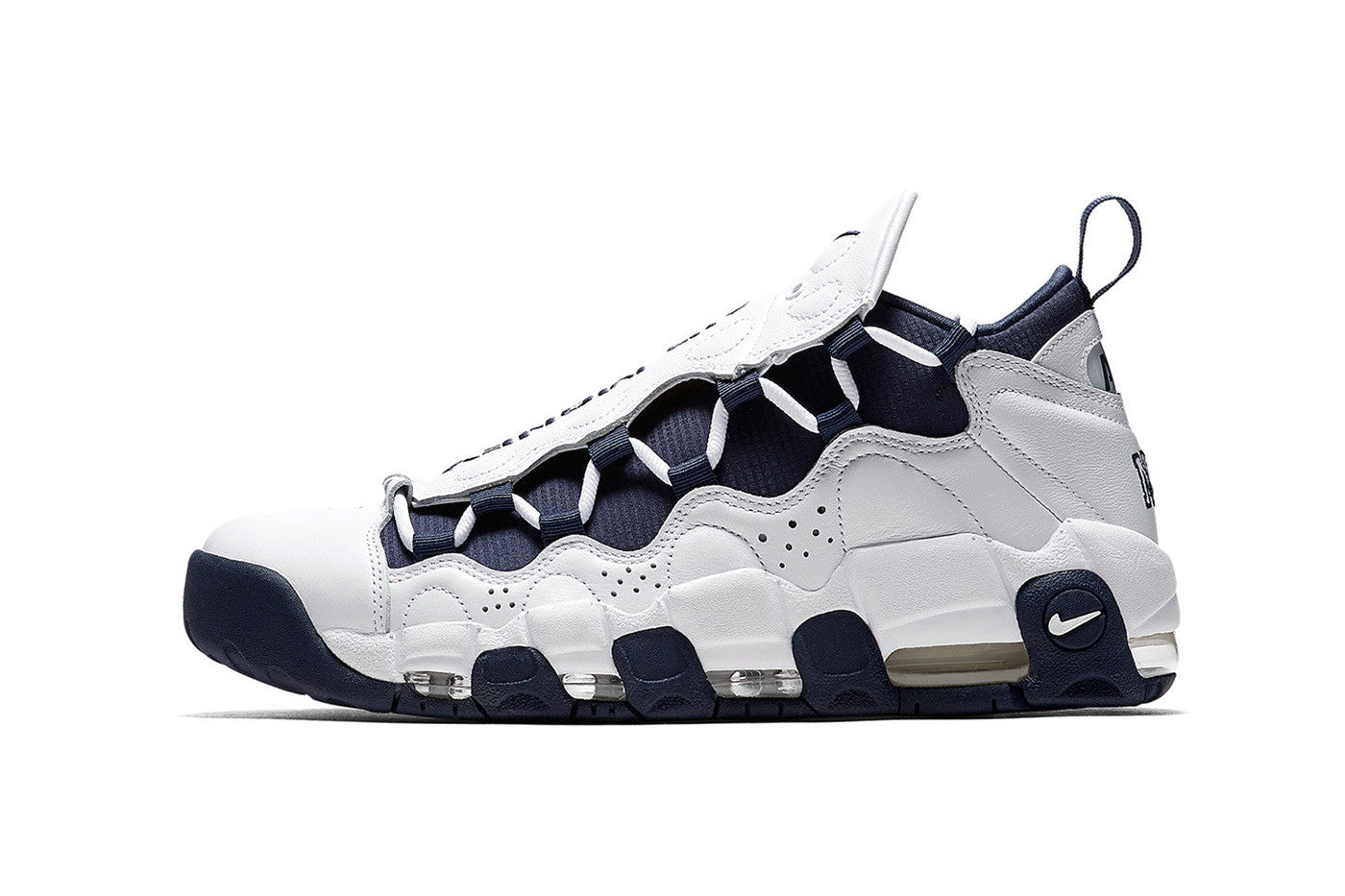"NIKE AIR MORE MONEY ""BRONX"" AVAILABLE NOW"