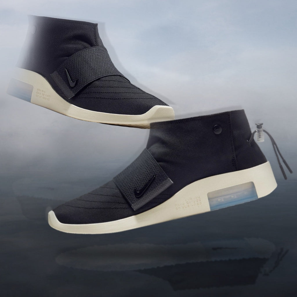 NIKE AIR FEAR OF GOD - BLACK/FOSSIL RAID/MOC