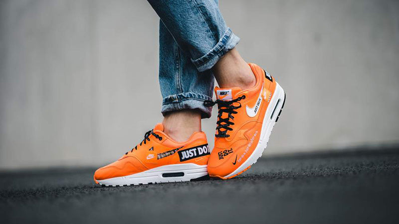 "Nike Air Max 1 Lux ""JUST DO IT"" Total Orange Release Date: June 28th 2018"