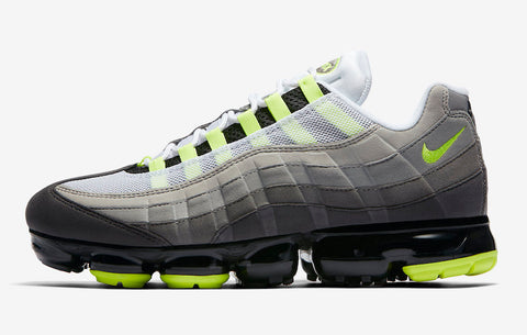 956c2be5b3 It's official, 2018 is the year of the hybrid VaporMax models. Next to be  revealed is the Nike Air VaporMax 95, a silhouette that combines elements  from the ...