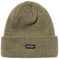 Stussy Small Patch Watchcap Beanie Olive