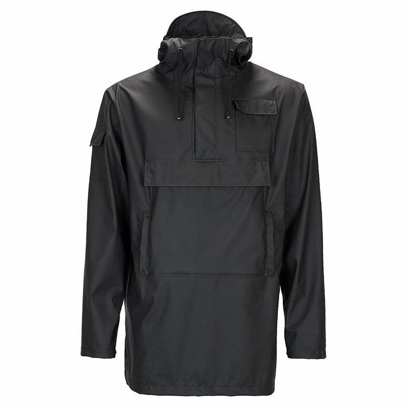 Rains Camp Anorak - Black