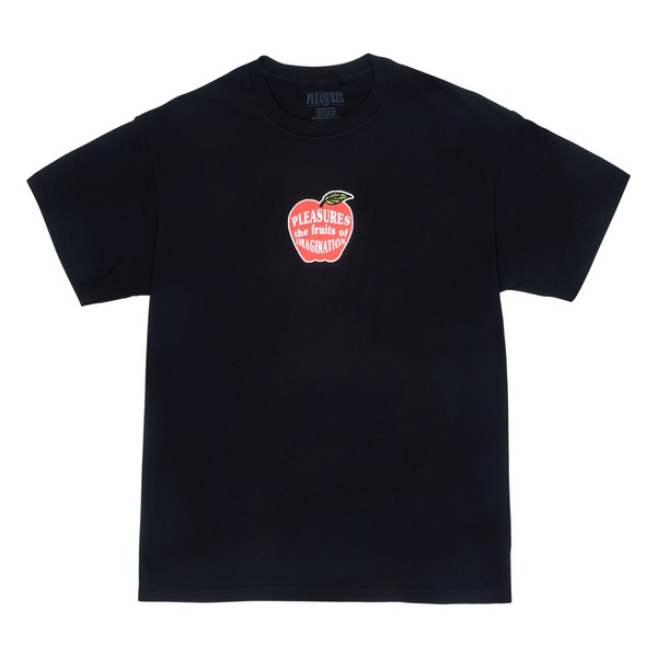 Pleasures Imagination Tee Black