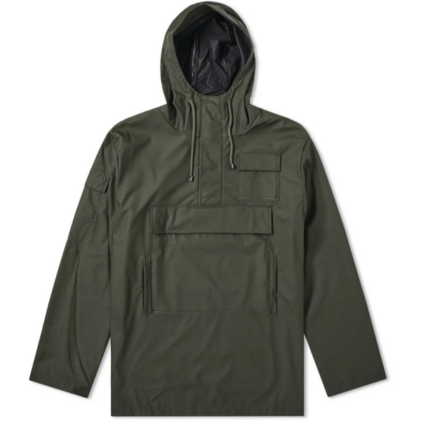 Rains Camp Anorak Green