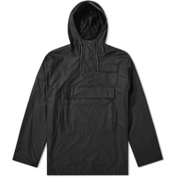 Rains Camp Anorak Black