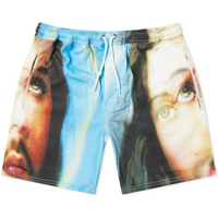 Pleasures Holy Shorts Blue
