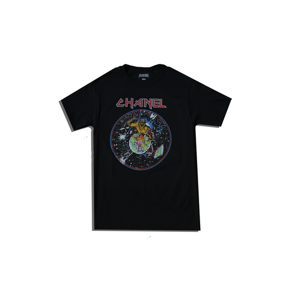 Bleached Goods On The Run Tee Black