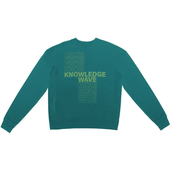 Know Wave Knowledge Crewneck