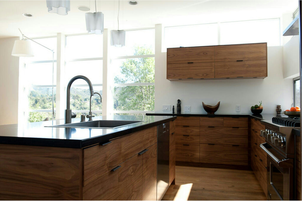 Charmant Semihandmade Walnut Akurum Kitchen