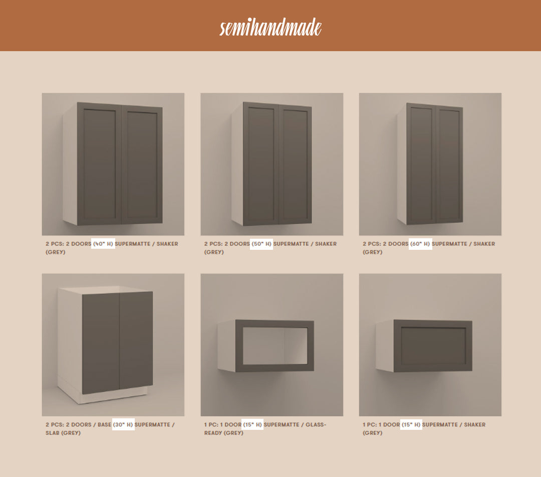 How to Order Semihandmade Doors
