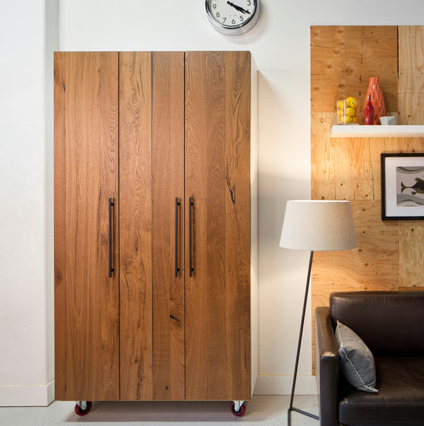 Semihandmade Sektion Reclaimed Oak Closet Door