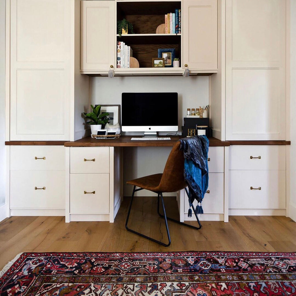 Creating Your Home Office Using Ikea Sektion Kitchen Cabinets Semihandmade