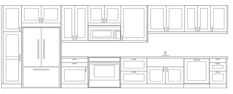 Sample Shaker Cabinet Configuration