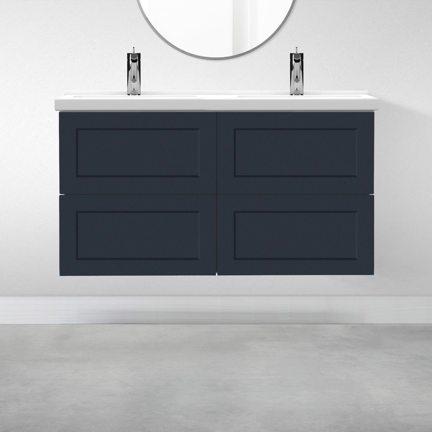 "4 Drawers - 47 1/4"" for Godmorgon Supermatte Shaker / Night Sky"
