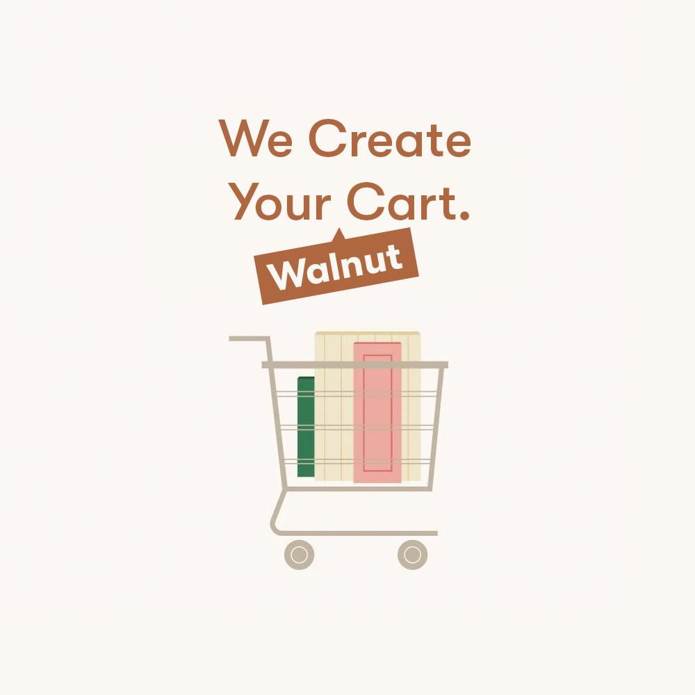 Create Your Cart - Walnut
