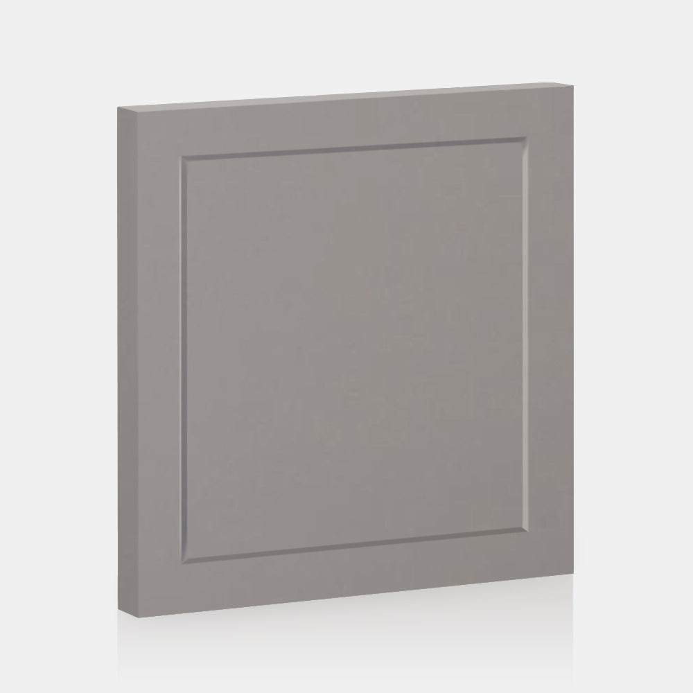 "Light Grey Supermatte Shaker Front for Besta 23 ⅝ "" x 25 ¼ "" - Door / Light grey"