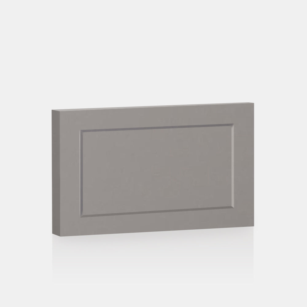 "Light Grey Supermatte Shaker Front for Besta 23 ⅝"" x 15"" - Door/Drawer / Light grey"