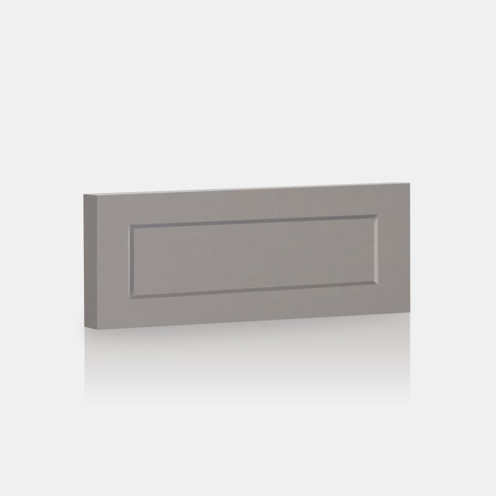 "Light Grey Supermatte Shaker Front for Besta 23 ⅝ "" x 10 ¼ "" - Drawer / Light grey"