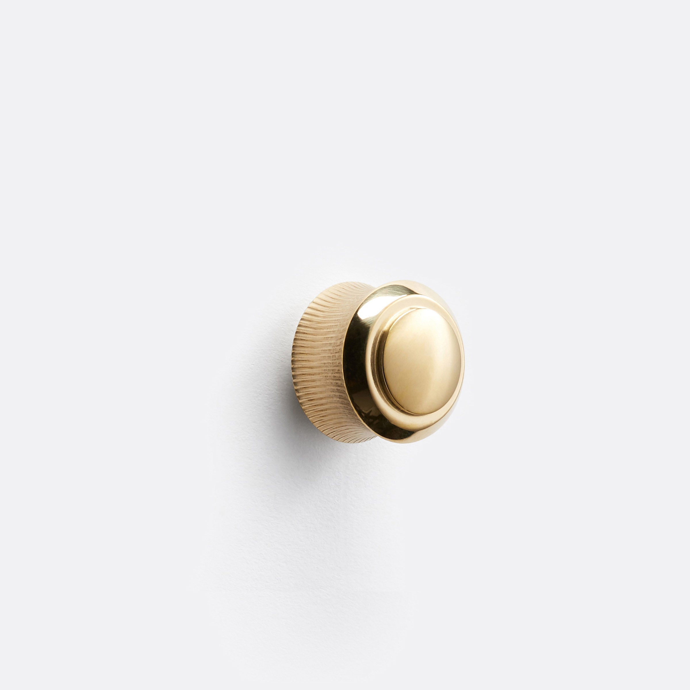 Rigdon Cabinet Knob by Rejuvenation Unlacquered Brass