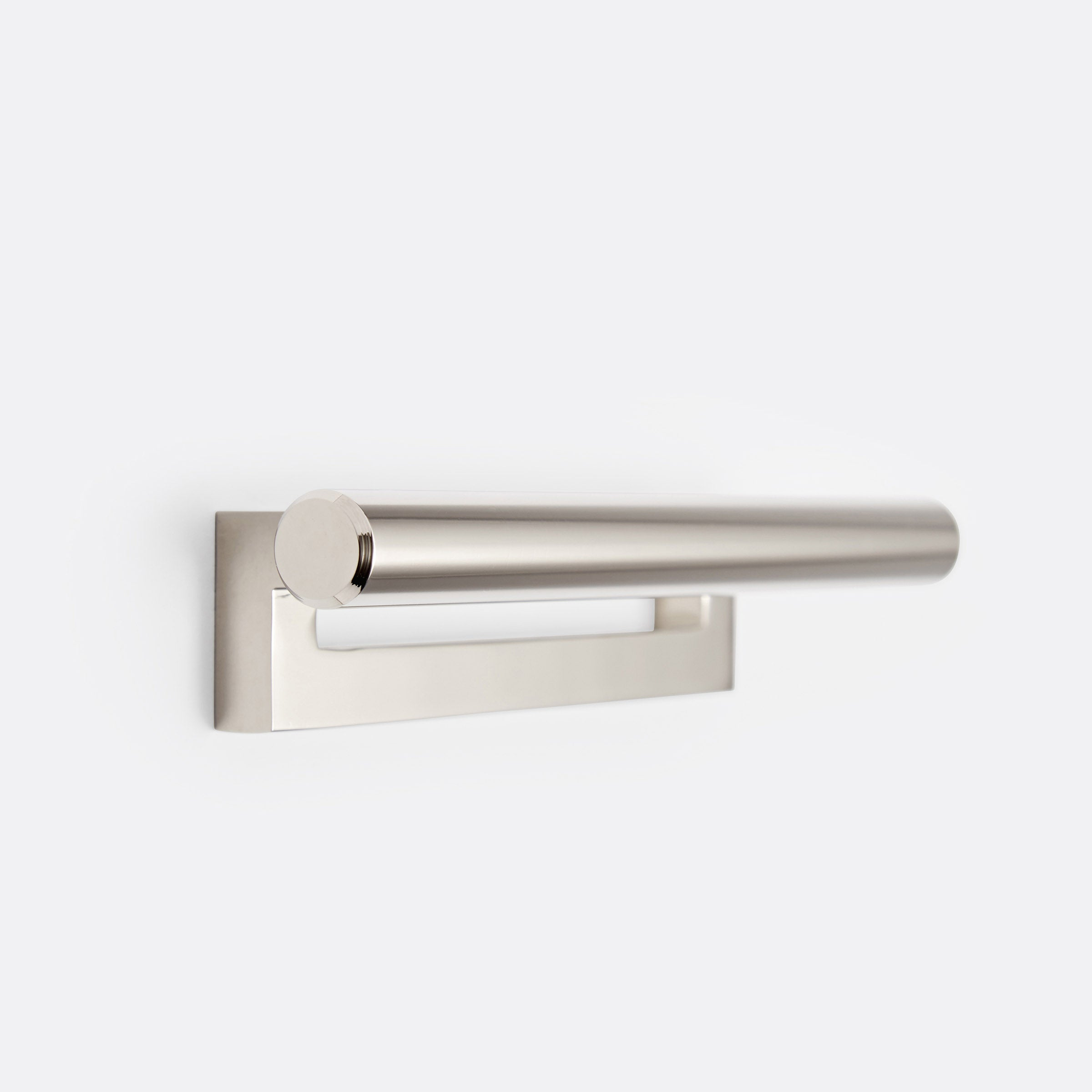 "Upton Drawer Pull by Rejuvenation 4"" / Polished Nickel"