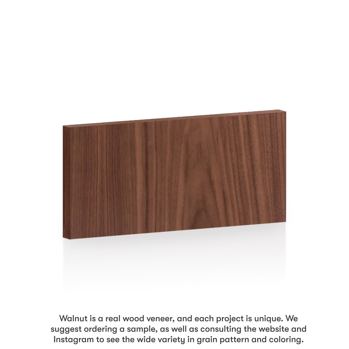 Walnut Slab Drawer for Akurum (Vertical Grain)