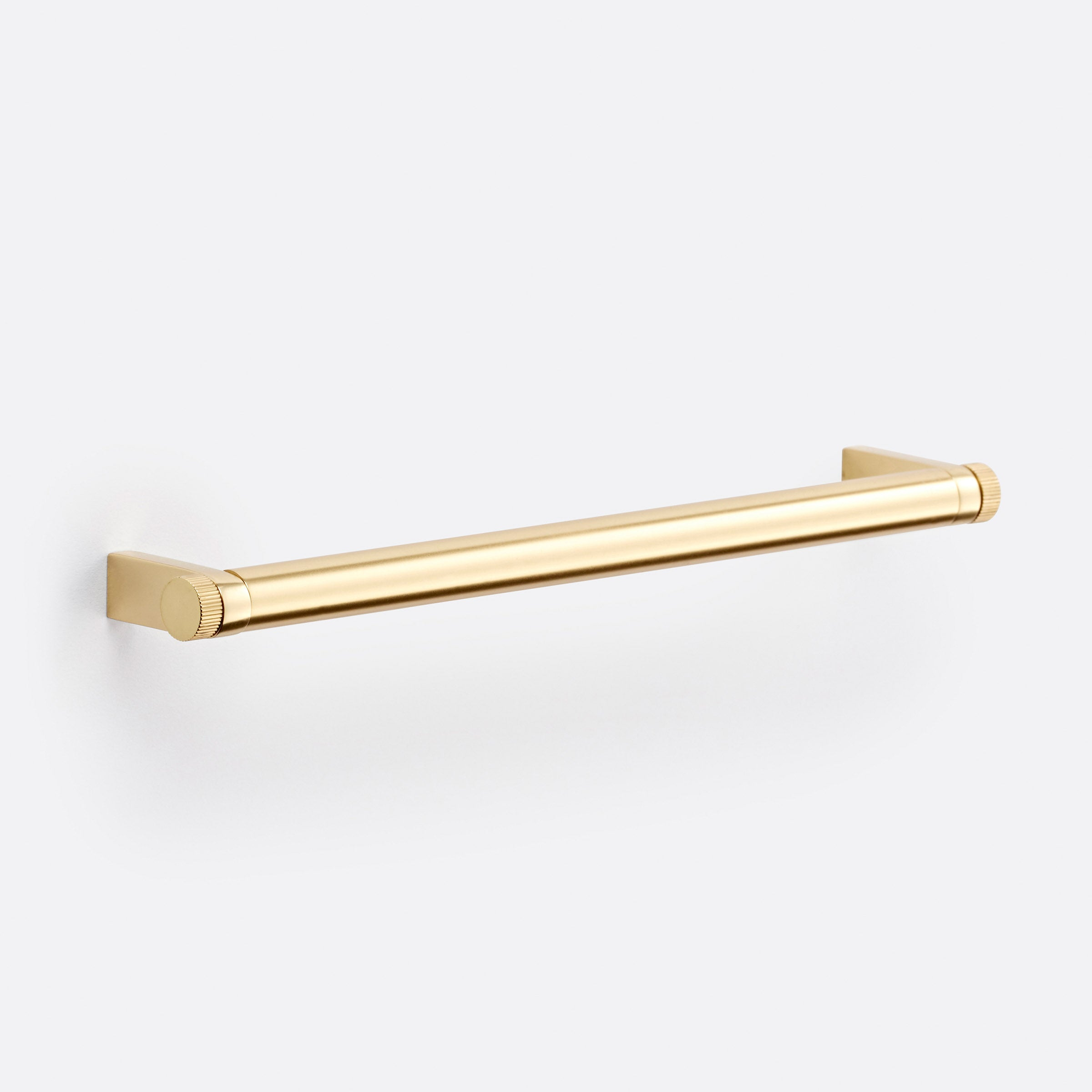"West Slope Drawer Pull by Rejuvenation 8"" / Aged Brass"