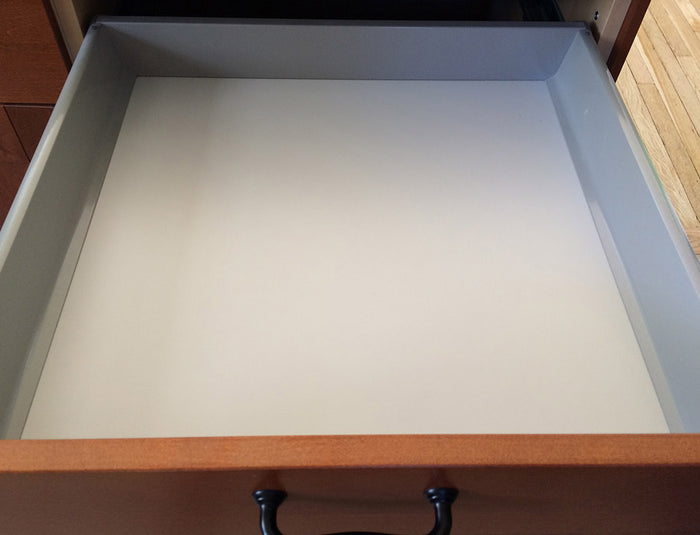 Akurum grey drawer