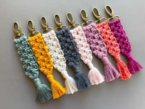 Square Knot Key Chain