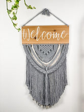 Load image into Gallery viewer, Welcome Sign Wall Hanging