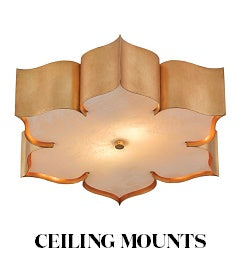 Currey and Company Ceiling Mounts