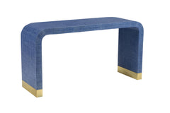Chelsea House Waterfall Console Table - Blue 384206