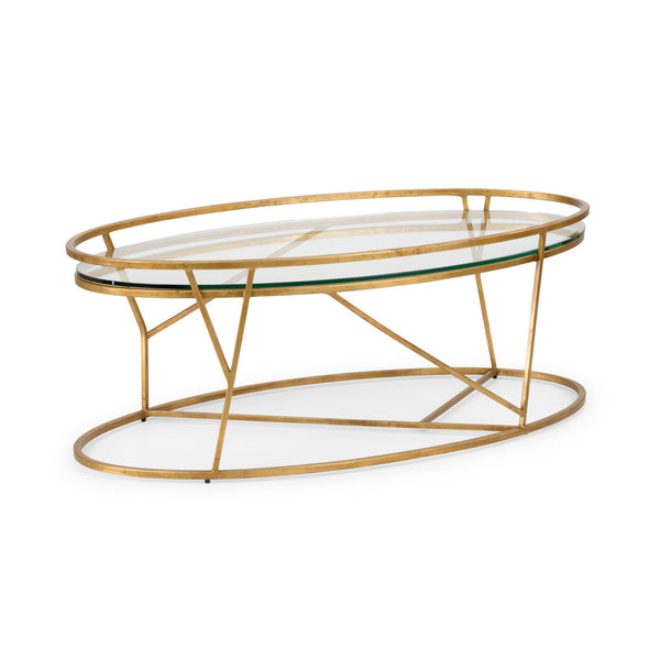 Chelsea House Mason Cocktail Table - Gold 382301