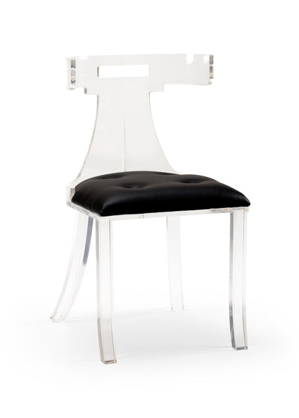 Lovecup Elsa Acrylic Chair - Leather 490168